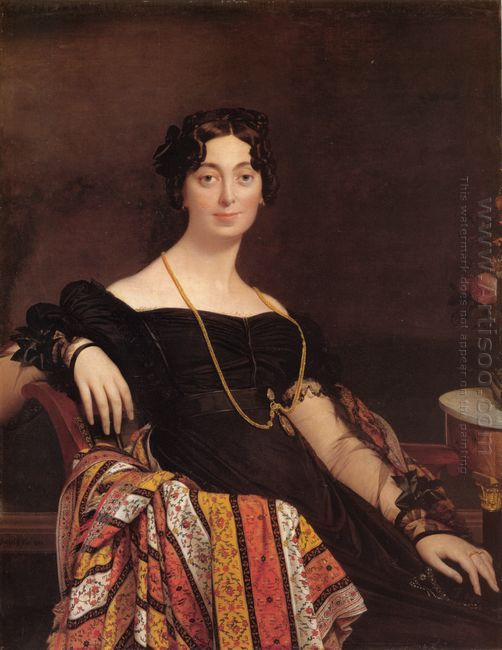 Portrait Of Madame Leblanc