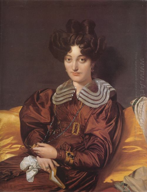Portrait Of Madame Marcotte De Sainte Marie 1826