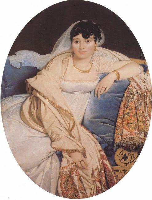 Portrait Of Madame Riviere Nee Marie Francoise Jacquette Bibiane