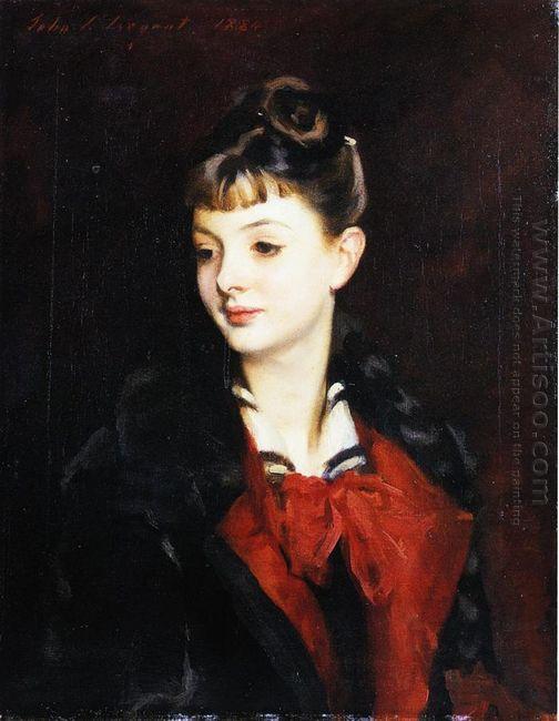 Portrait Of Mademoiselle Suzanne Poirson 1884