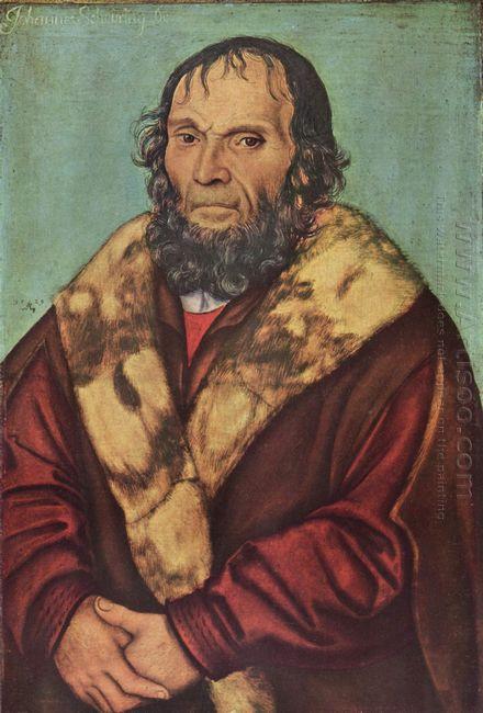Portrait Of Magdeburg Theologians Dr Johannes Schöner 1529