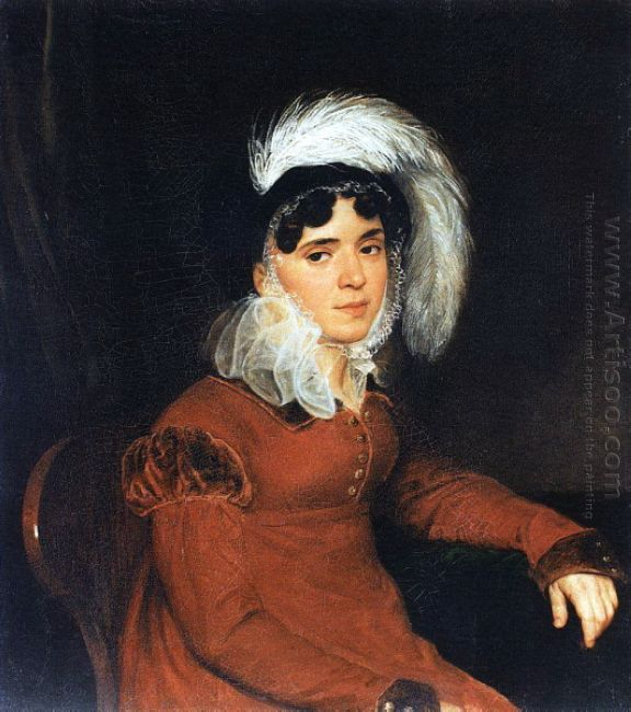 Portrait Of M A Kikina 1822