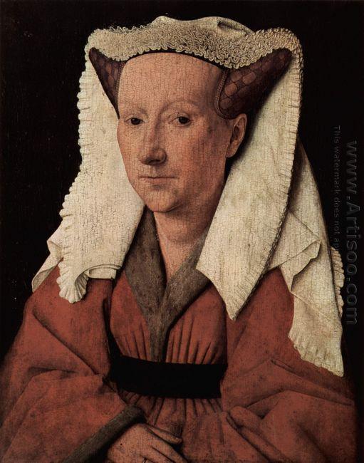 Portrait Of Margaret Van Eyck 1439