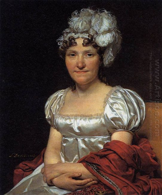 Portrait Of Marguerite Charlotte David 1813