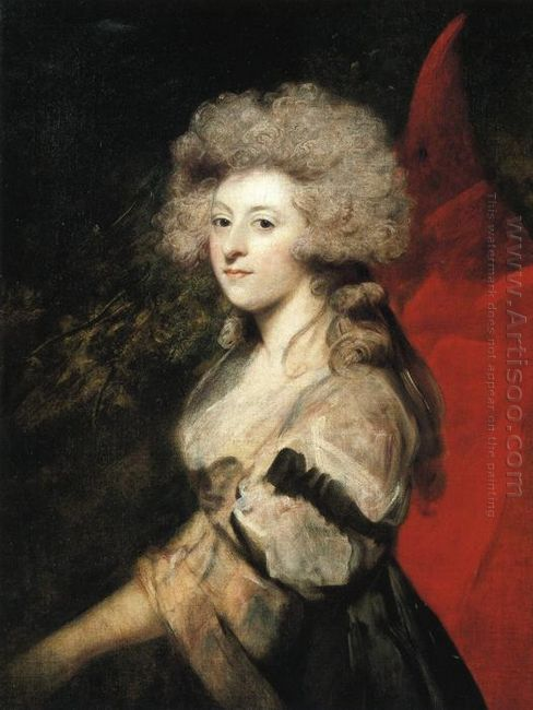 Portrait Of Maria Anne Fitzherbert