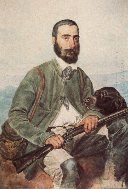 Portrait Of Mariano Tittoni 1852