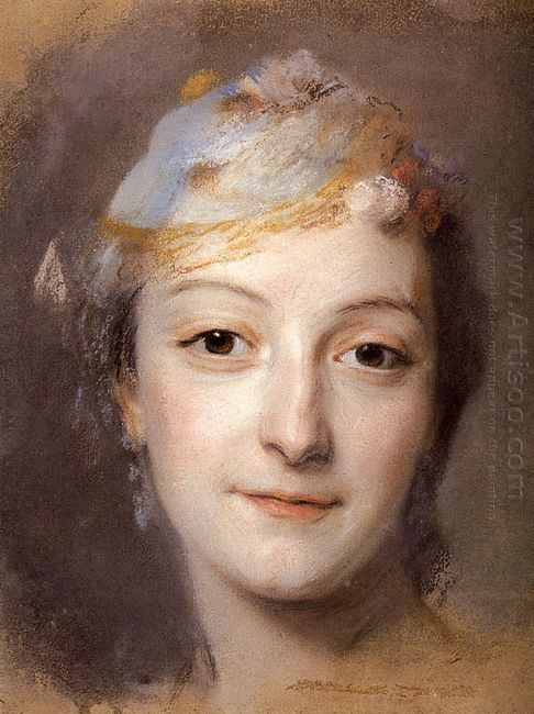Portrait Of Marie Fel 1757