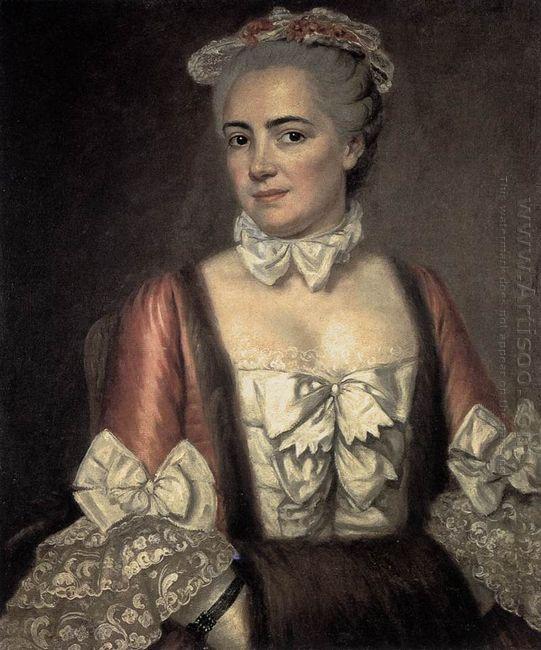 Portrait Of Marie Francoise Buron 1769
