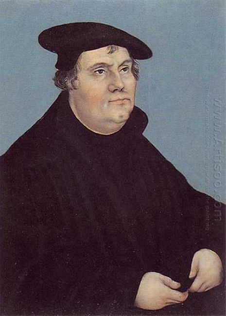 Portrait Of Martin Luther 1543 1