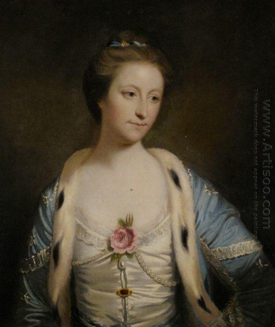 Portrait Of Mary Barnardiston