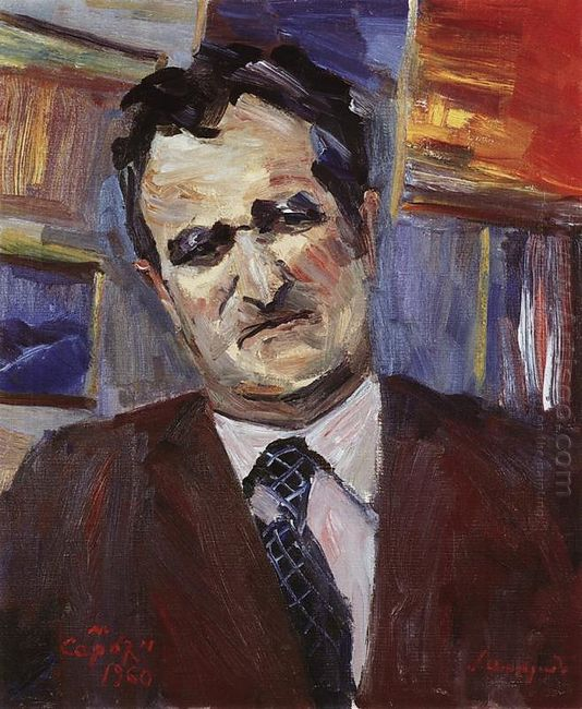 Portrait Of Mathematics Artashes Shahinyan 1960