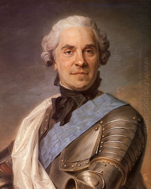 Portrait Of Maurice Of Saxony