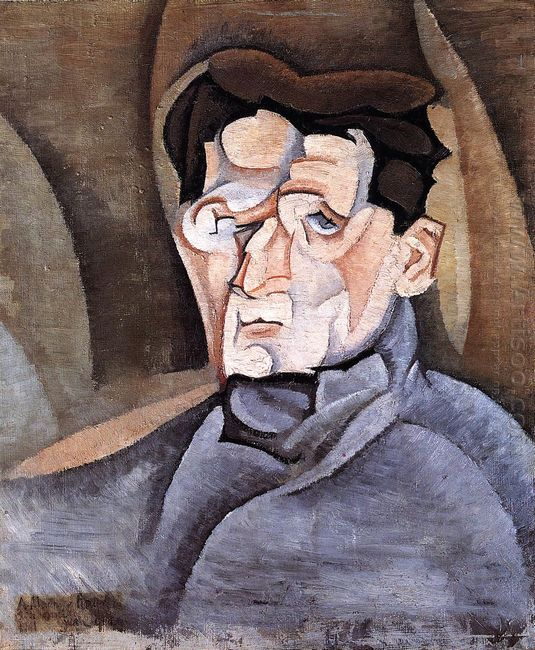 Portrait Of Maurice Raynal 1911