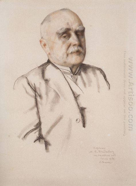 Portrait Of M Braykevich