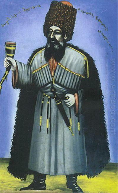 Portrait Of Melion Chkheidze