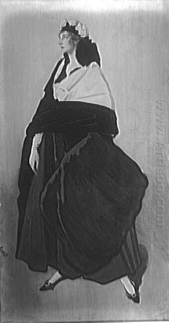 Portrait Of Miss Ida Rubinstein