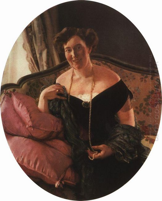 Portrait Of M Karpova