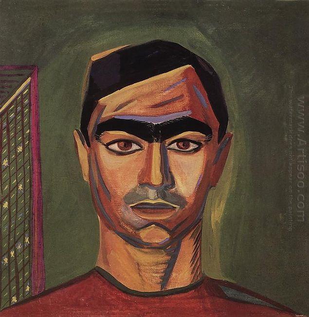 Portrait Of Mnatsakan Gyulnazaryan 1915