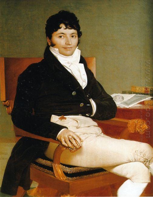 Portrait Of Monsieur Rivière 1805