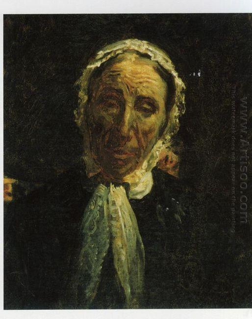 Portrait Of M P Svet