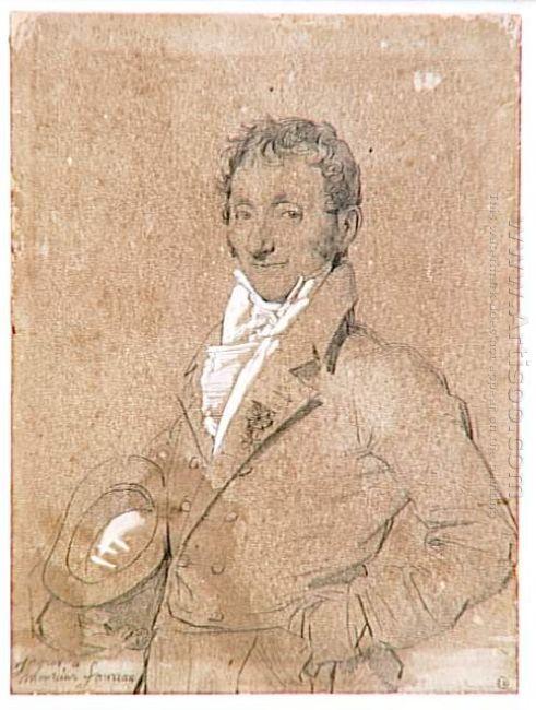 Portrait Of Mr Foureau