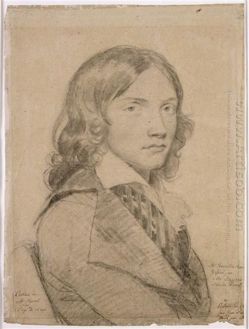 Portrait Of Mr Revoil To 18 In Bust