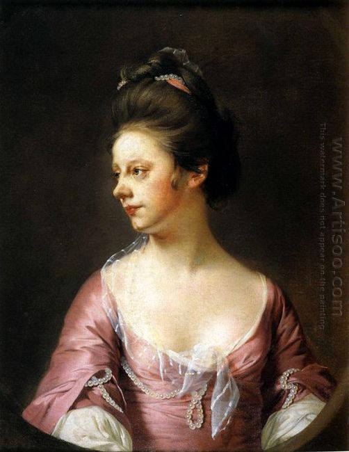 Portrait Of Mrs Catherine Swindell 1772