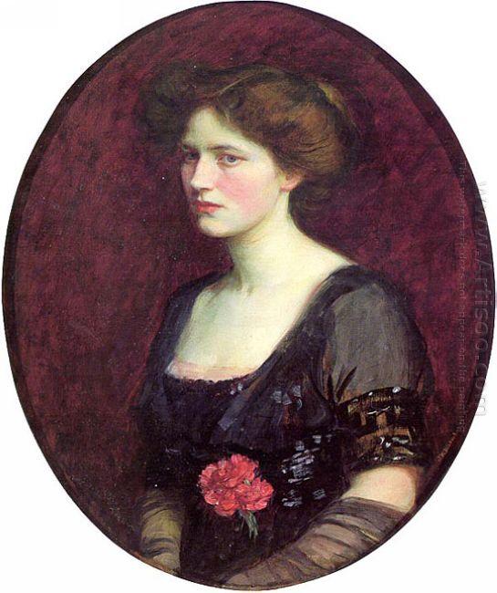 Portrait Of Mrs Charles Schreiber 1912