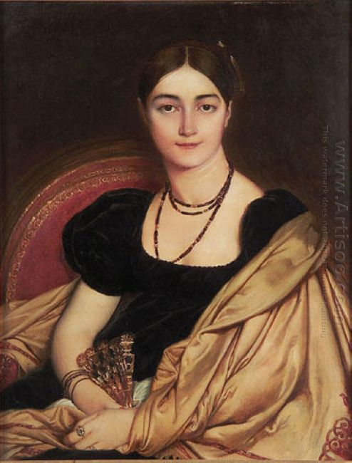 Portrait Of Mrs Devauçay