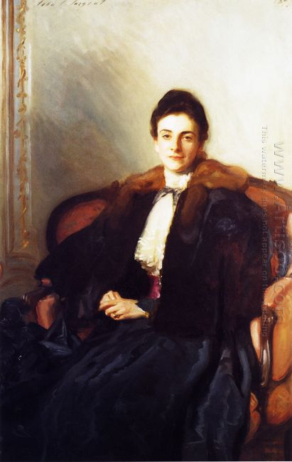 Portrait Of Mrs Harold Wilson 1897