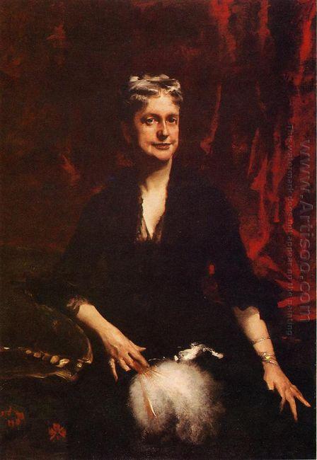 Portrait Of Mrs John Joseph Townsend Catherine Rebecca Bronson 1