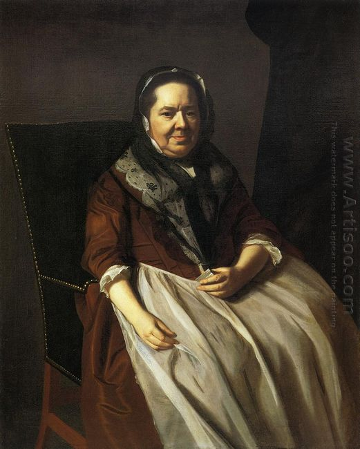 Portrait Of Mrs Paul Richard 1771