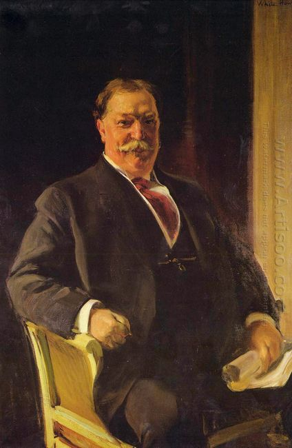 Portrait Of Mr Taft President Of The United States 1909