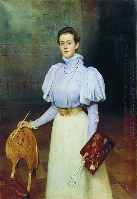 Portrait Of M Sheremetova