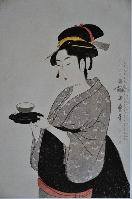 Portrait Of Naniwaya Okita 1793