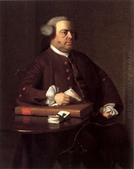 Portrait Of Nathaniel Allen 1763