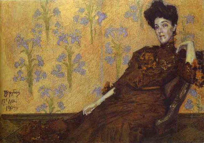 Portrait Of N Zabela 1904