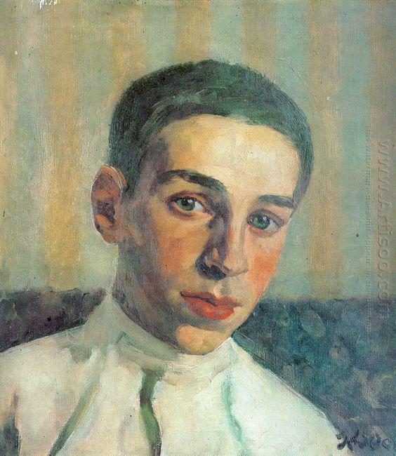Portrait Of Oleg Yuon The Artist S Grandson 1929