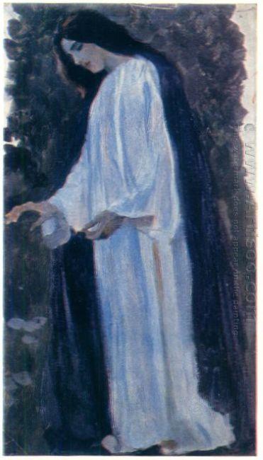 Portrait Of O Nesterova The Artist Daughter