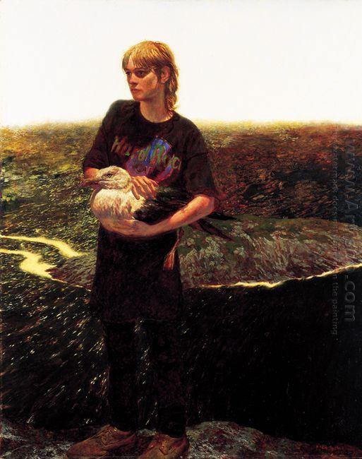 Portrait Of Orca Bates 1989