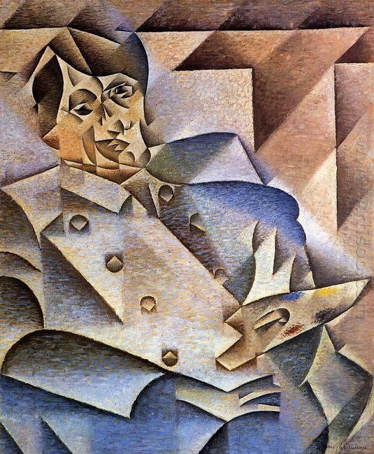 Portrait Of Pablo Picasso 1912