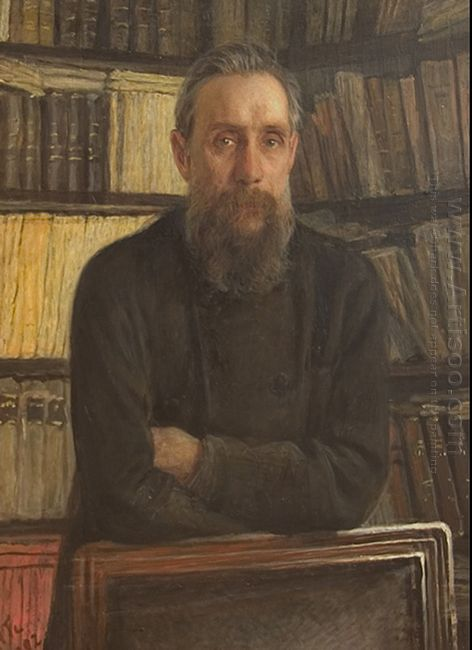 Portrait Of P A Kostichev