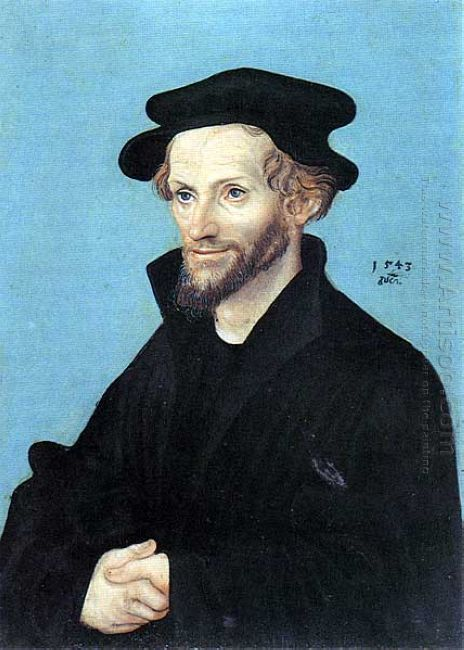 Portrait Of Philipp Melanchthon 1543
