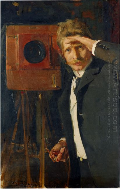 Portrait Of Photographer Christian Franzen 1901