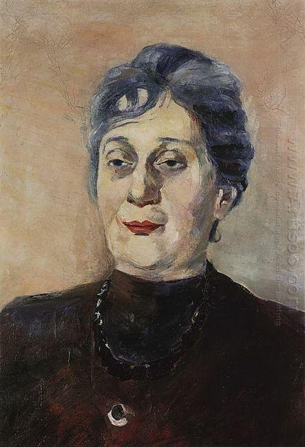 Portrait Of Poet Anna Akhmatova 1946