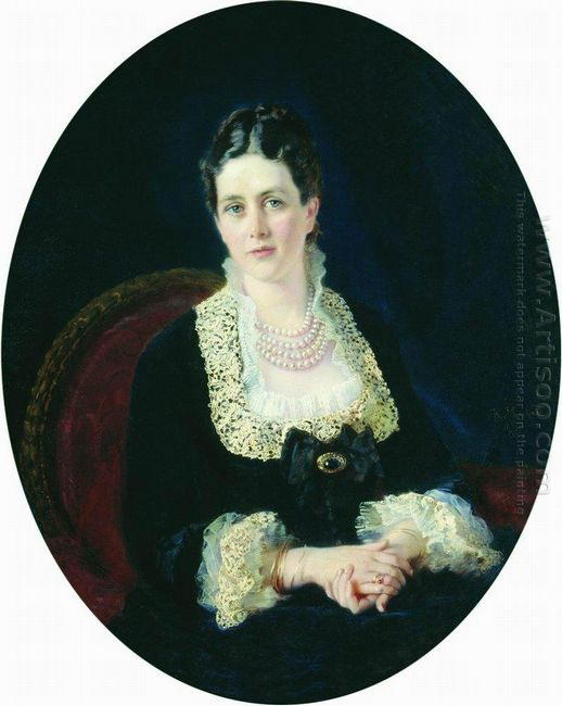 Portrait Of Princess E Sheremetiyeva