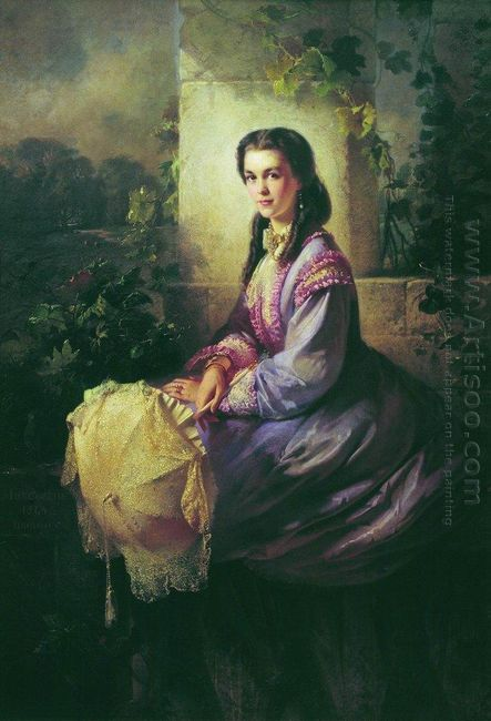 Portrait Of Princess S Stroganova