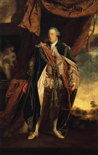 Portrait Of Prince William Augustus Duke Of Cumberland Son Of Ge