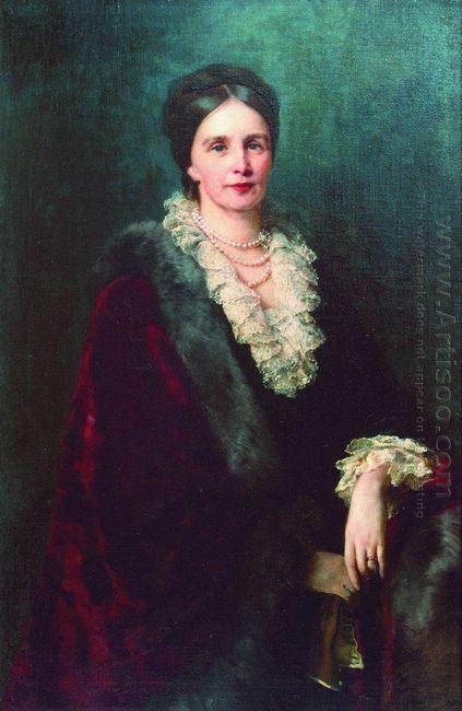 Portrait Of P Uvarova