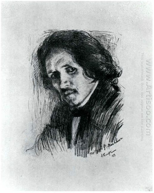 Portrait Of Russian Painter Filipp Andreevich Maljawin